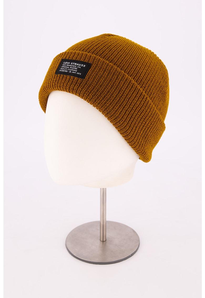 Caciula unisex elastica de lana imagine