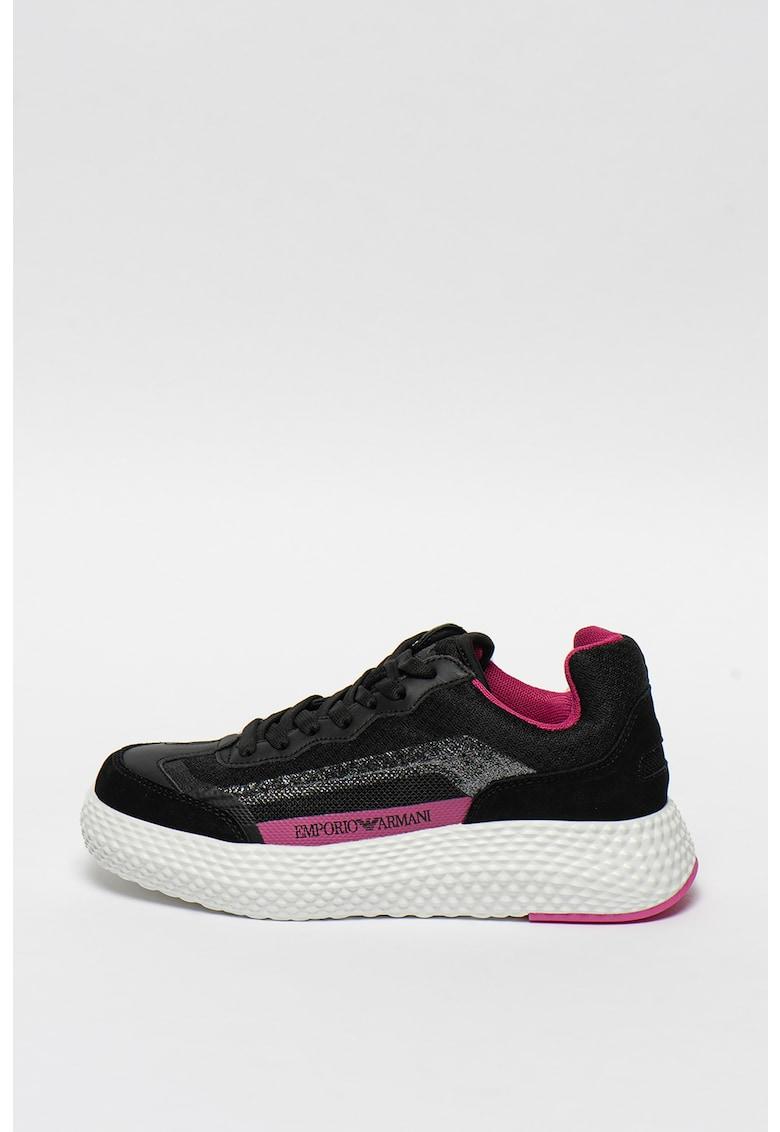 Pantofi sport cu talpa texturata