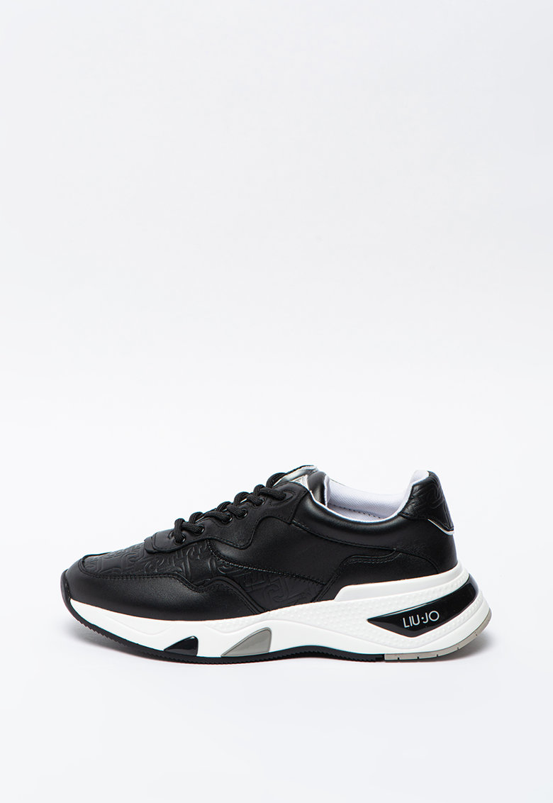 Pantofi sport cu insertii din piele Hoa