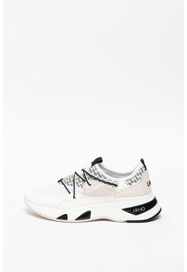 Pantofi sport slip-on cu insertii de neopren Hoa