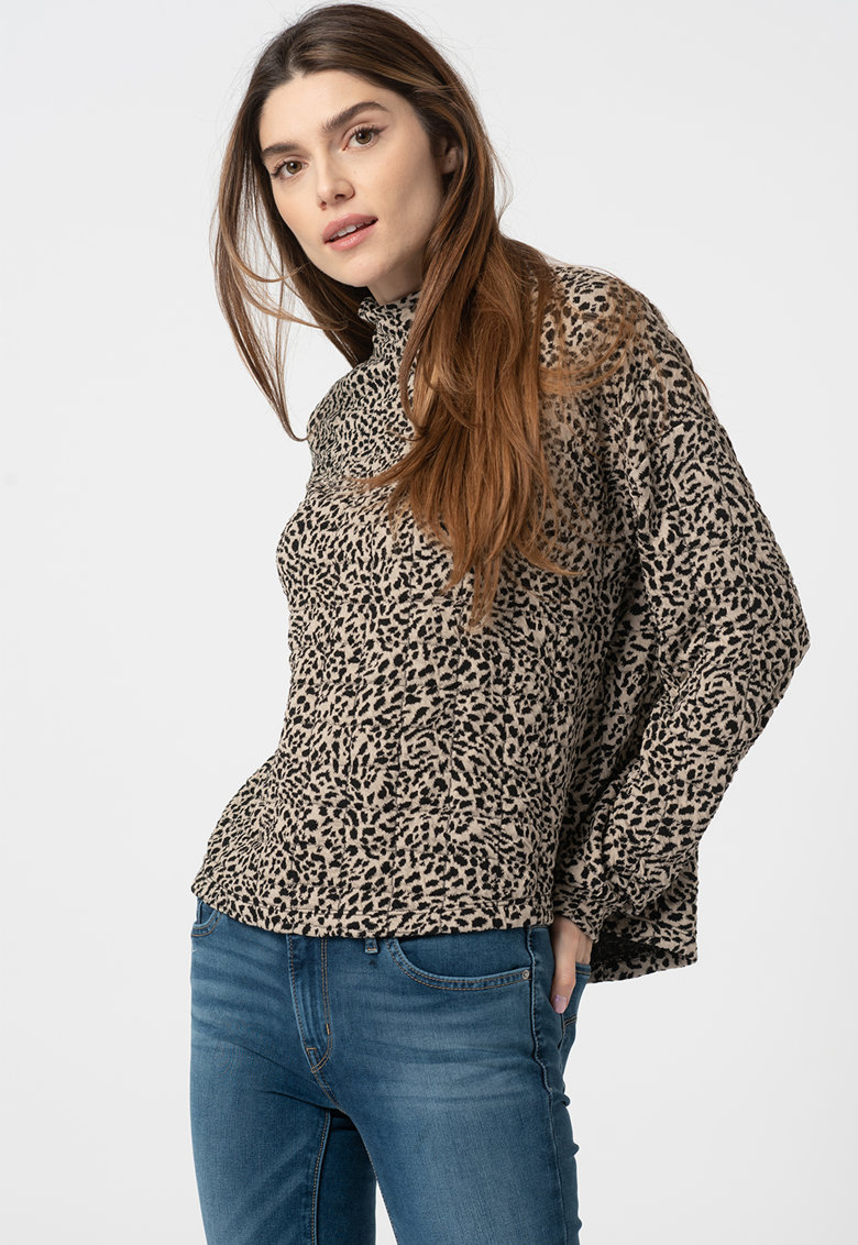 Bluza cu animal print Synna imagine