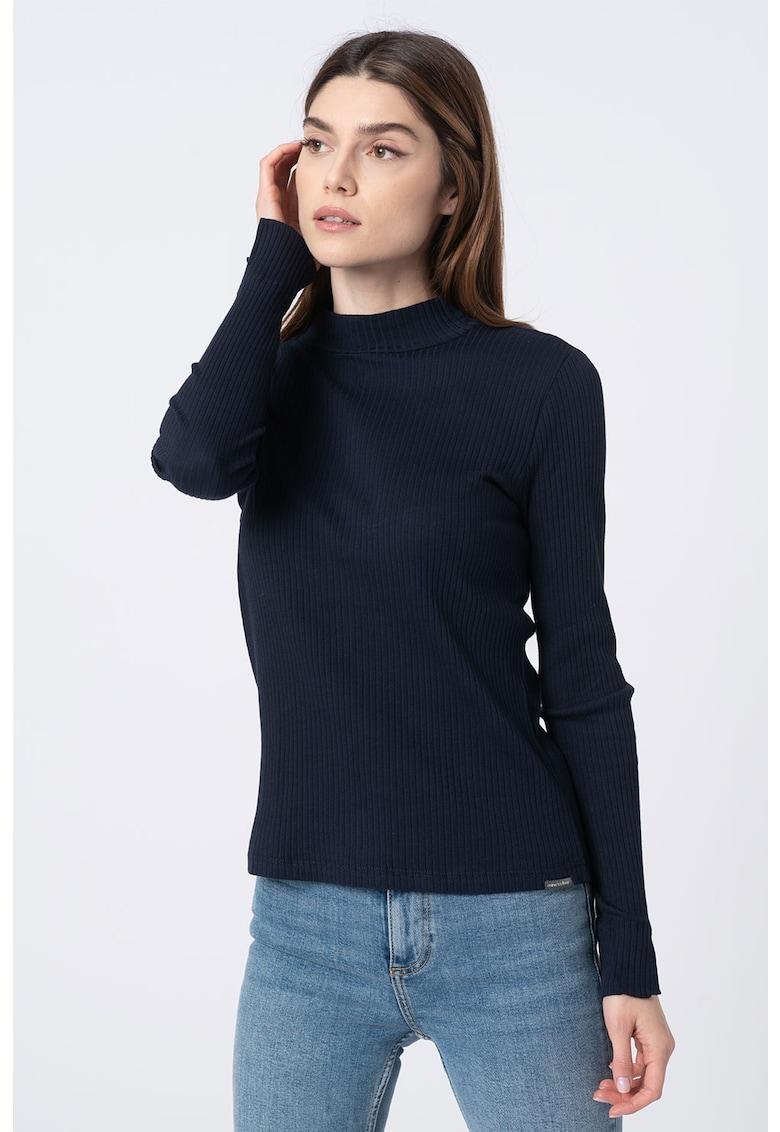 Bluza slim fit cu striatii