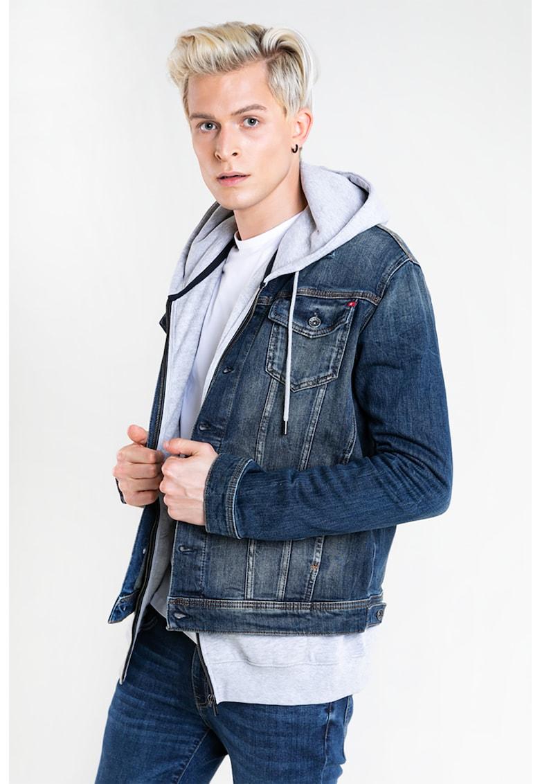 Jacheta din denim Ralph 646