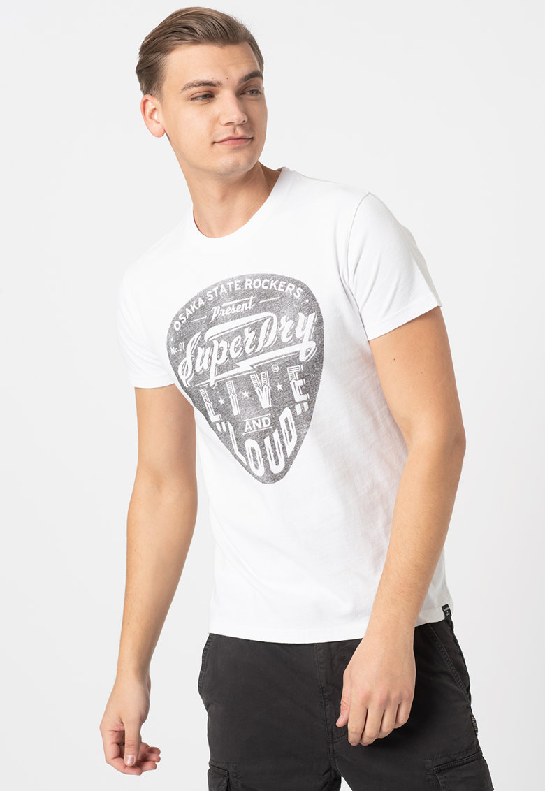 Tricou cu imprimeu Lower East Side