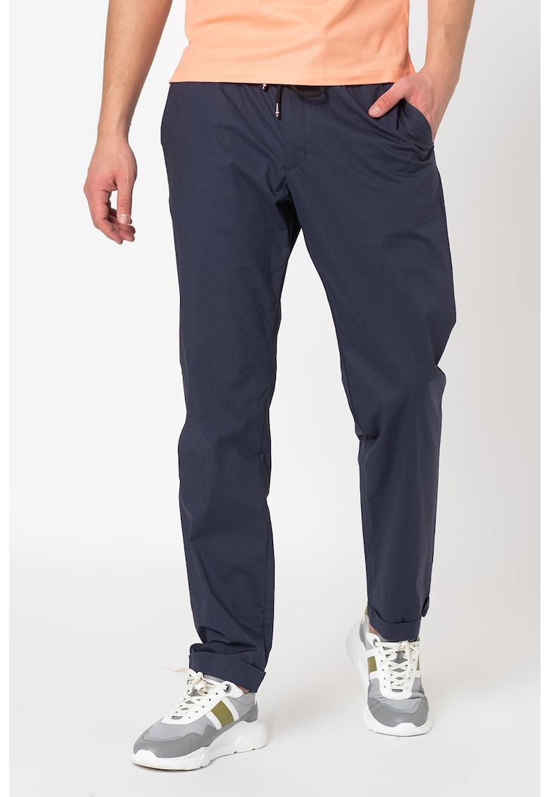 Pantaloni drepti cu snur in talie de la Tommy Hilfiger