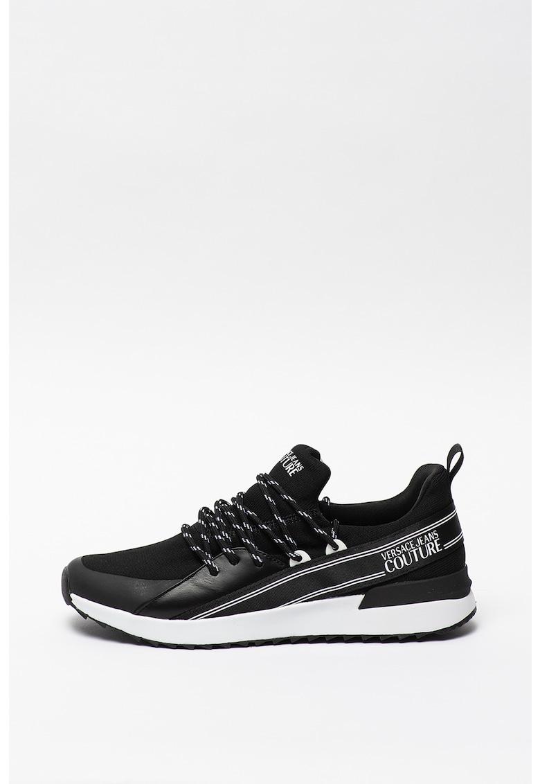 Pantofi sport cu detalii logo