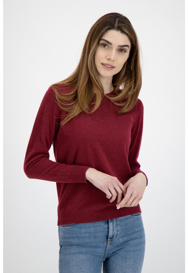 Pulover tricotat fin din casmir