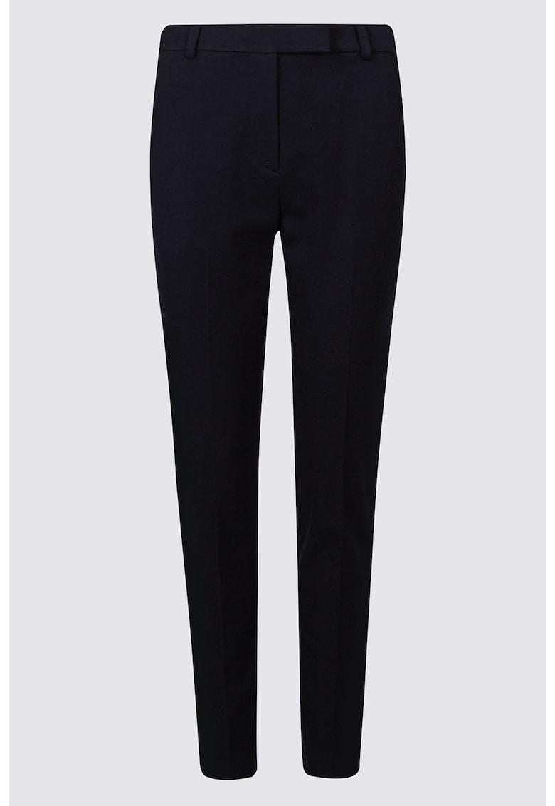 Pantaloni crop slim fit imagine