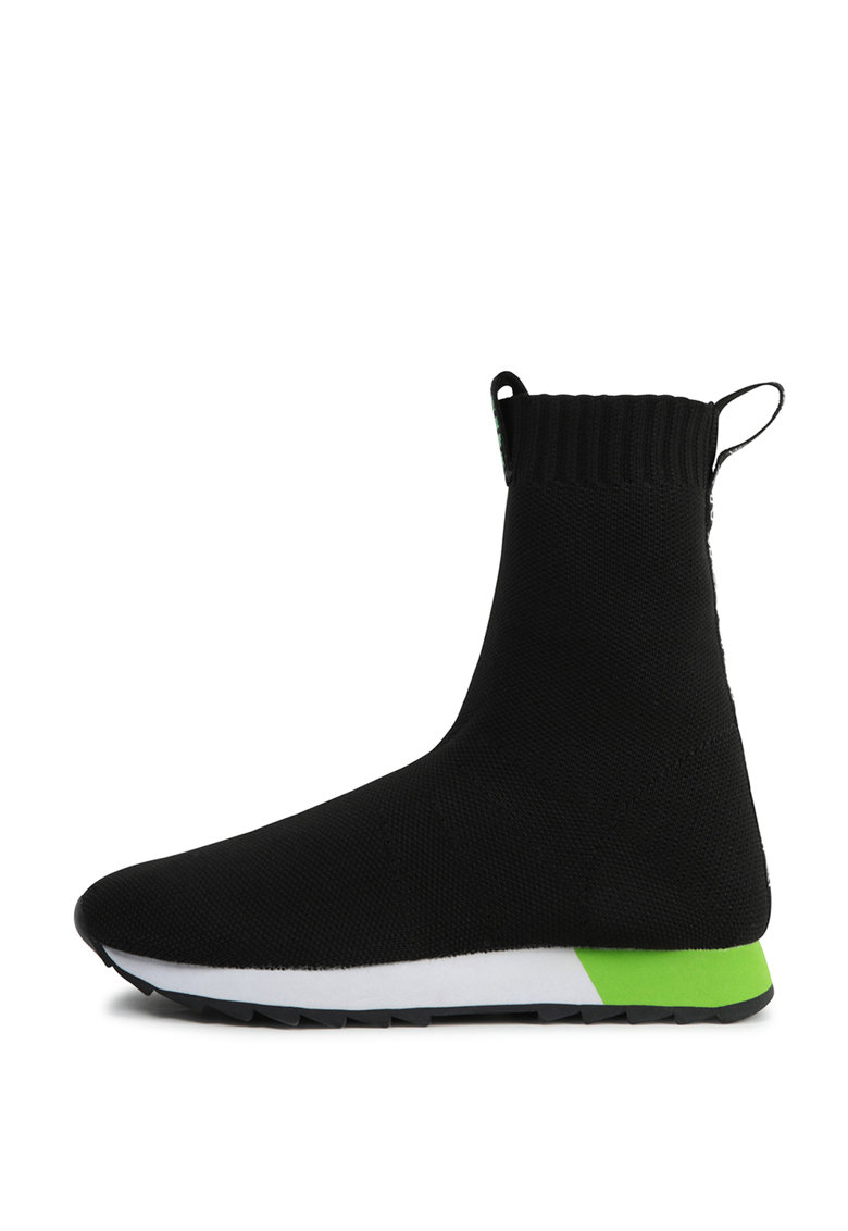 Pantofi sport slip-on high-top imagine promotie