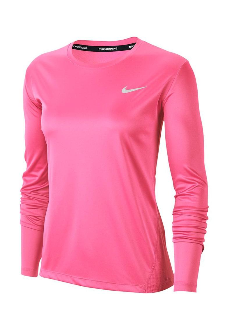 Bluza cu insertii de plasa si Dri-Fit - pentru alergare imagine