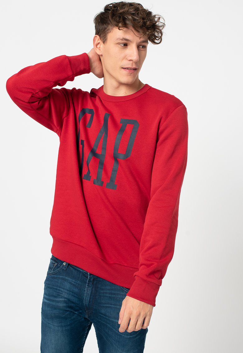 Bluza sport cu logo supradimensionat imagine