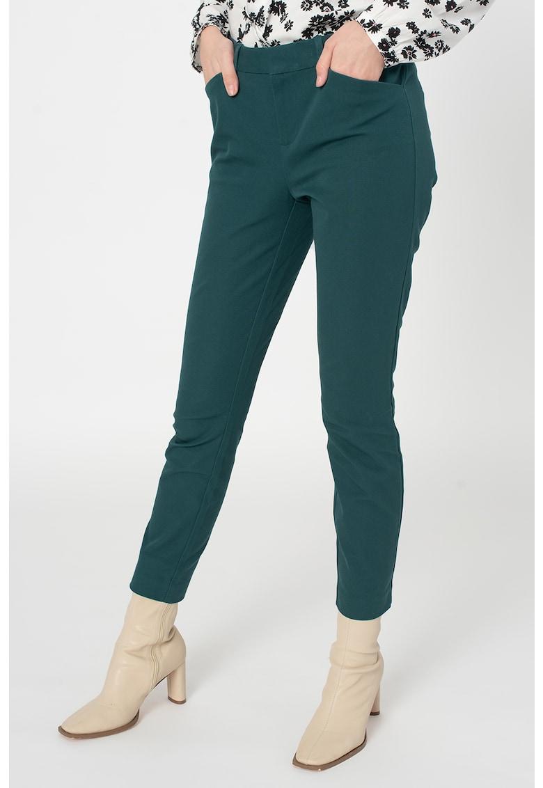 Pantaloni skinny crop imagine promotie