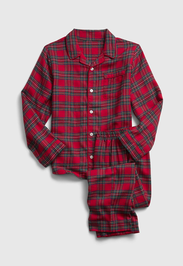 Pijama cu model tartan fashiondays.ro