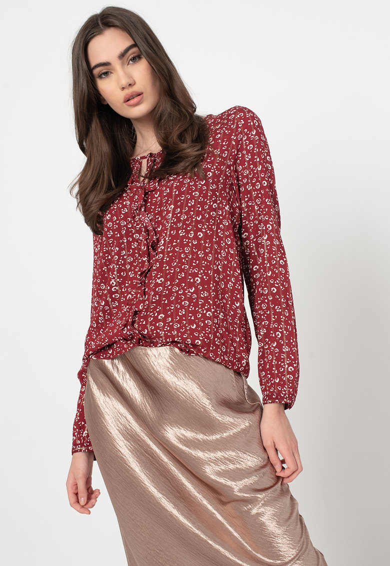 Bluza cu imprimeu floral imagine promotie