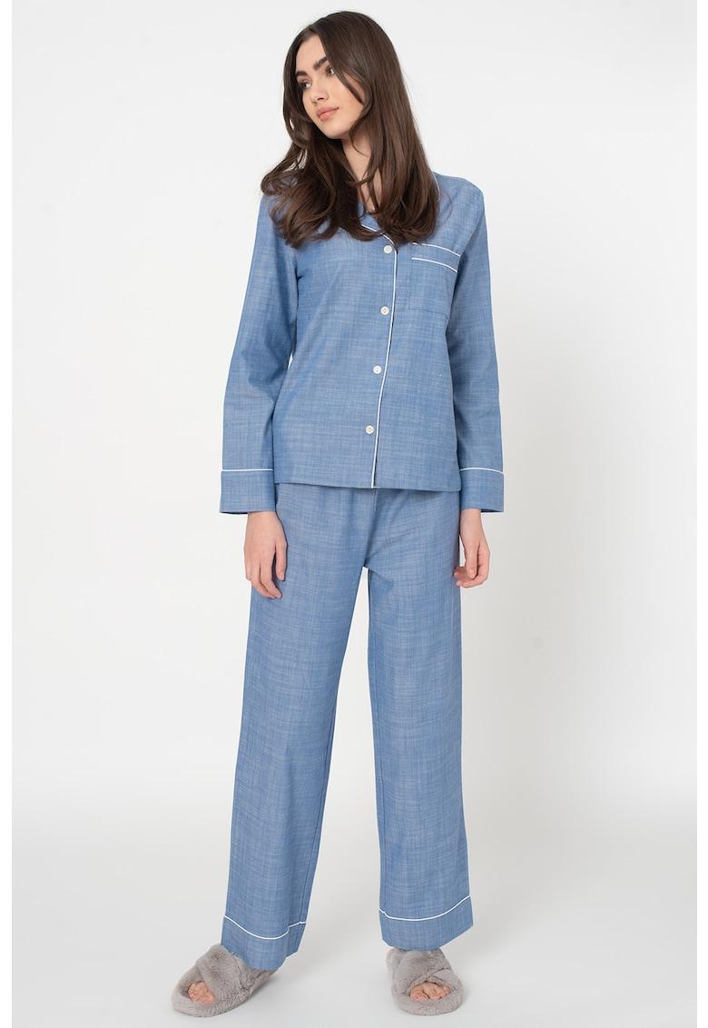 Pijama de flanel cu model
