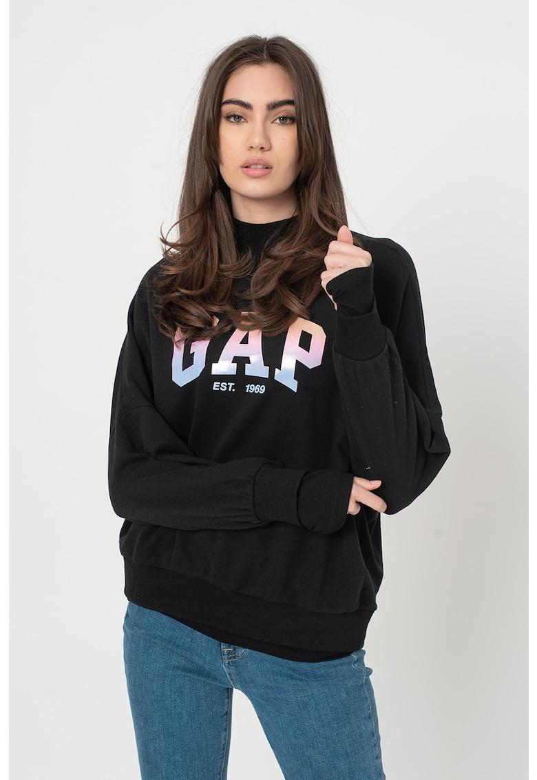 Bluza sport cu imprimeu logo imagine promotie