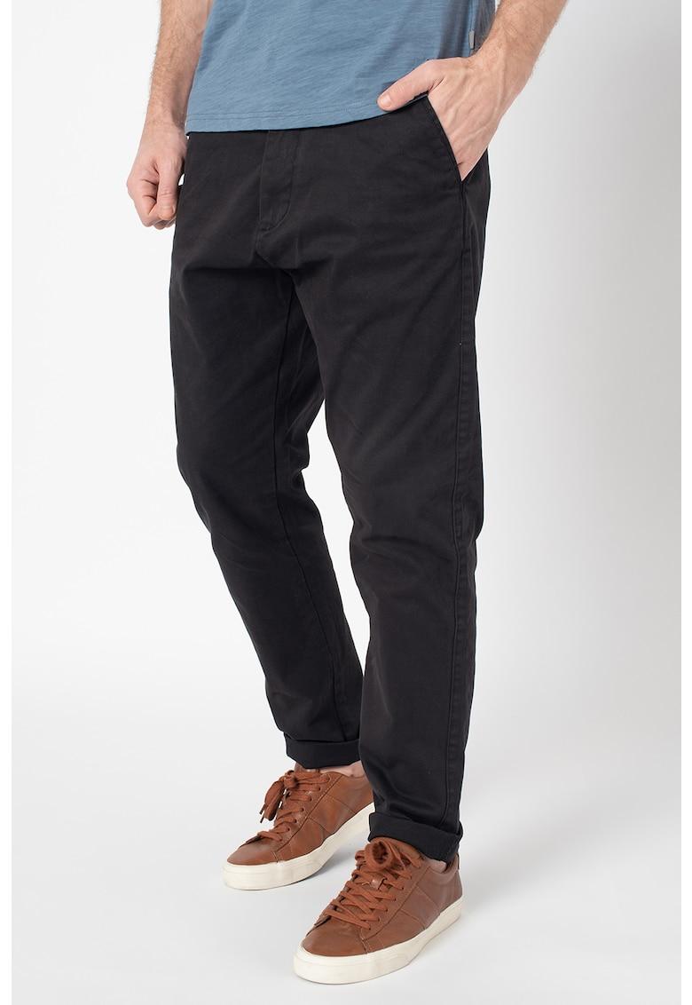Pantaloni chino regular fit Jim imagine