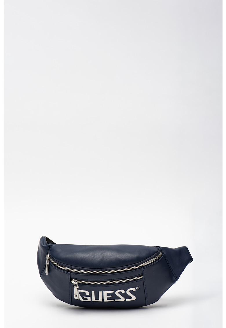 Borseta din piele ecologica cu logo Salameda imagine fashiondays.ro Guess