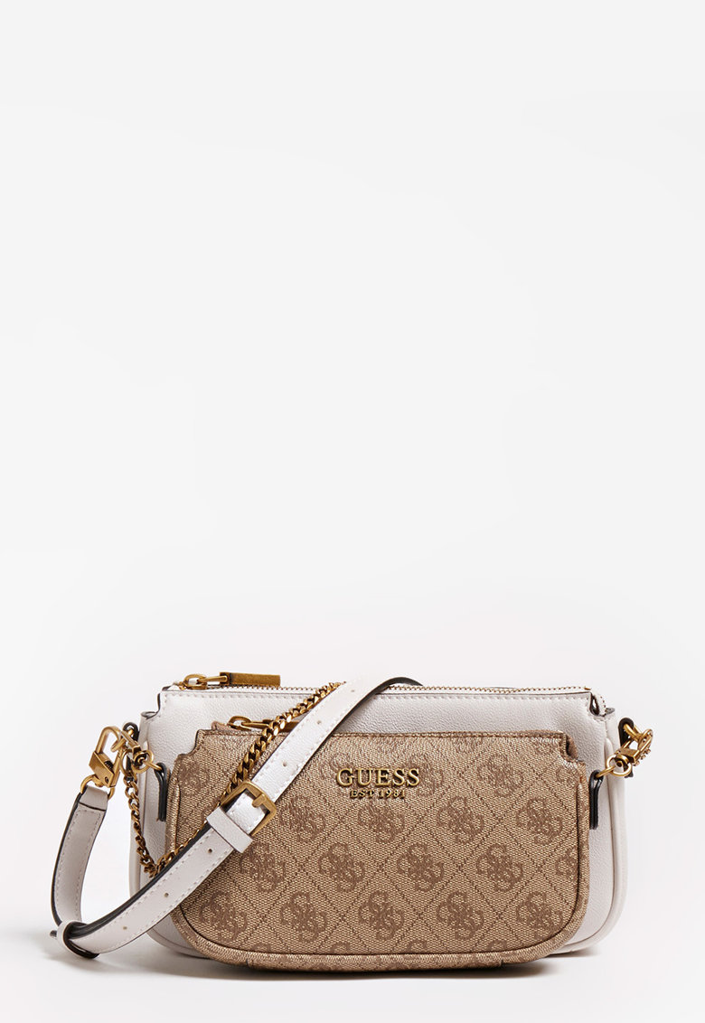 Set de geanta si etui de piele ecologica Mika Guess fashiondays.ro