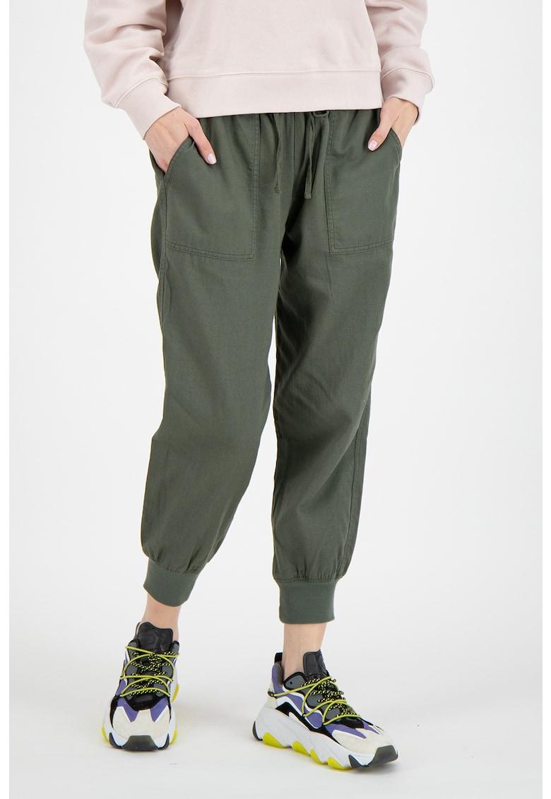 Pantaloni crop jogger imagine