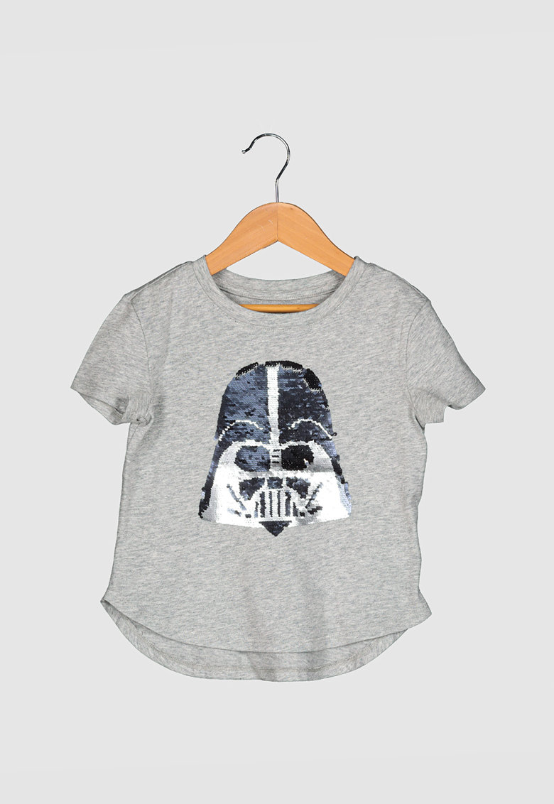 Tricou cu paiete reversibile si tematica Star Wars