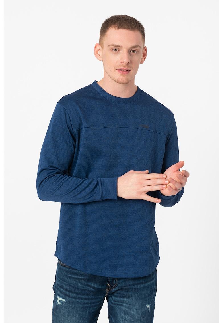 Bluza cu maneci lungi si logo imagine