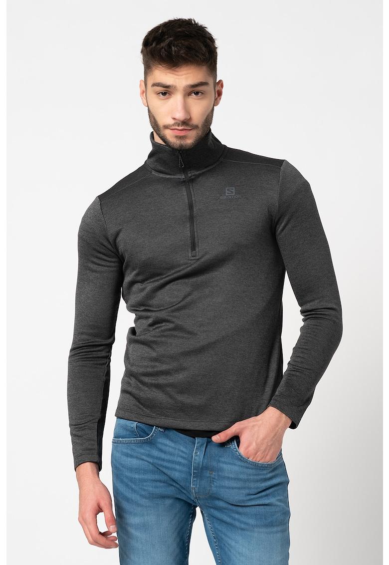 Bluza cu fenta cu fermoar - pentru drumetii Transition