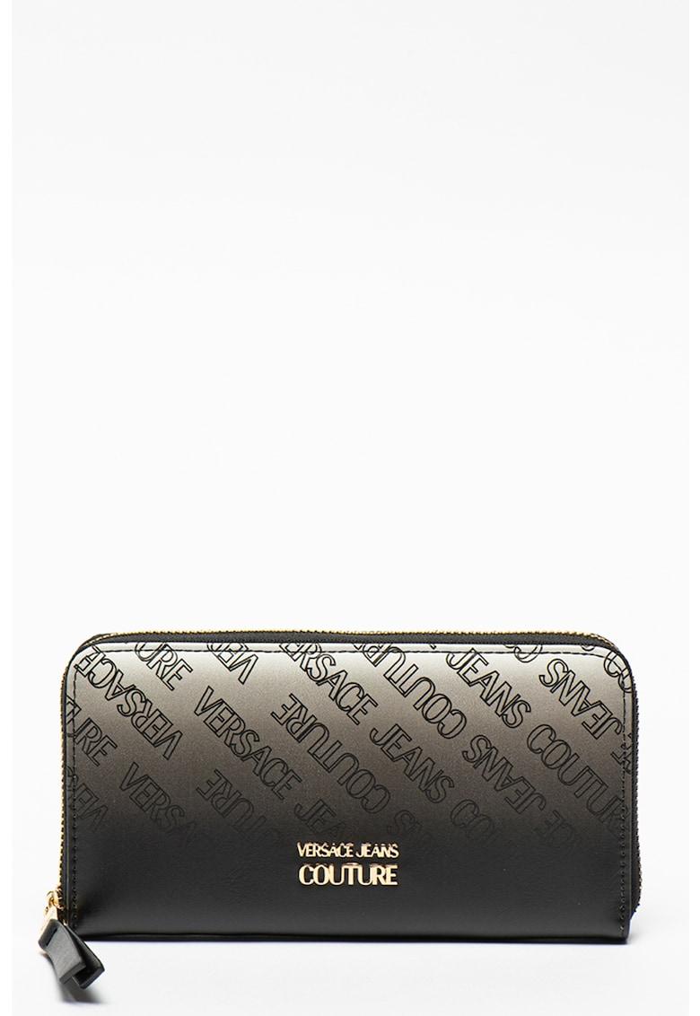 Versace Jeans Couture Portofel din piele ecologica cu model logo