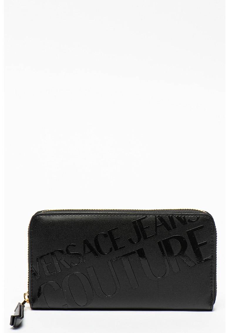 Versace Jeans Couture Portofel din piele ecologica cu logo