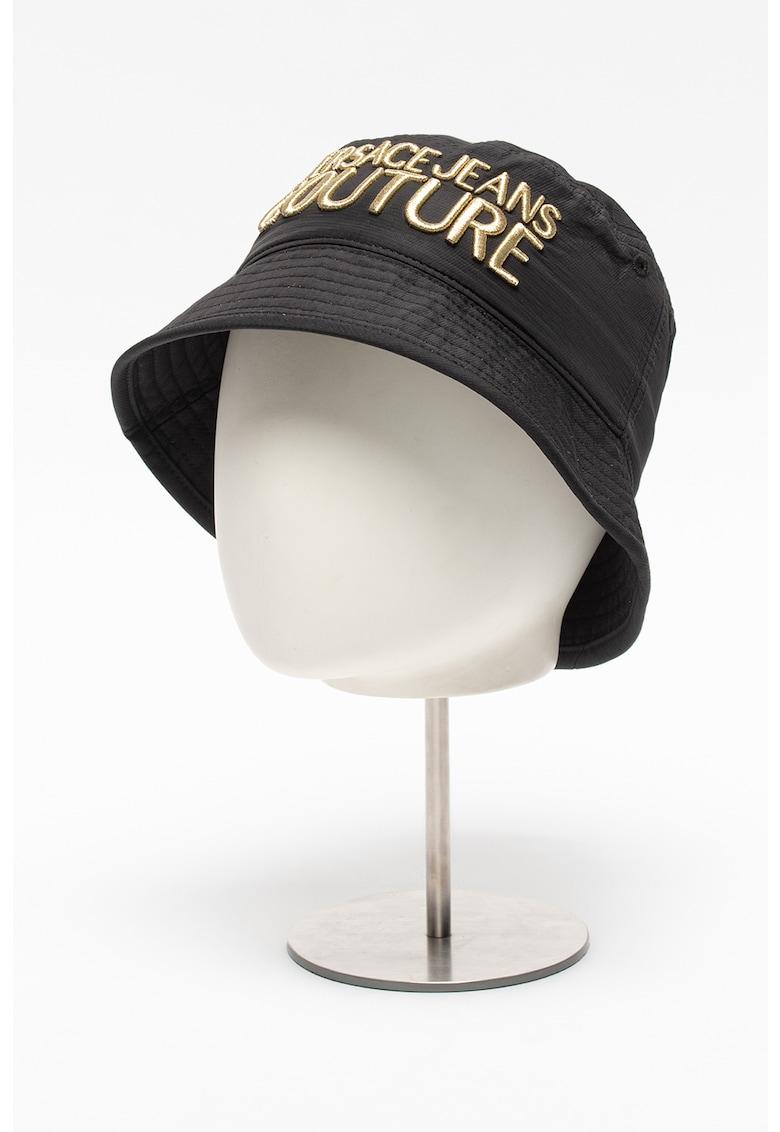Versace Jeans Couture Palarie bucket cu logo brodat Linea