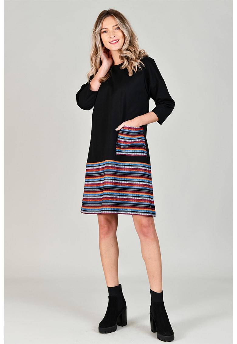 Rochie mini cu maneci cazute Format-Lady