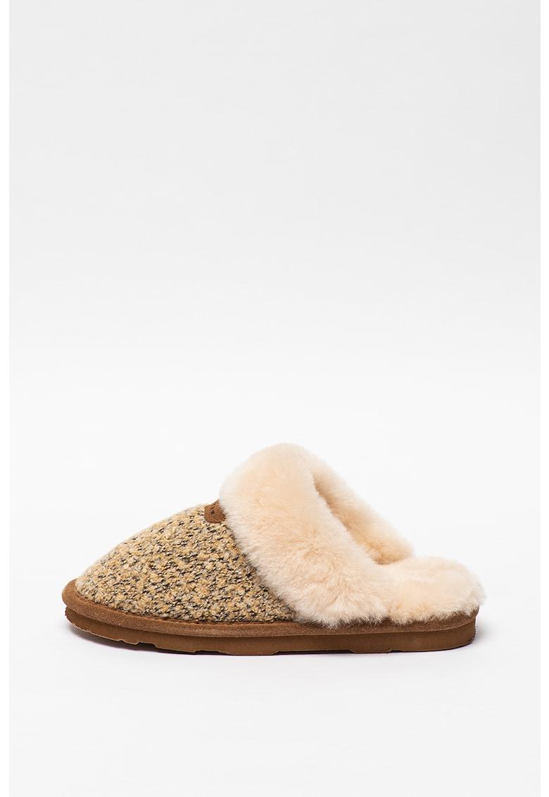 BEARPAW Papuci de casa cu captuseala de lana Effie