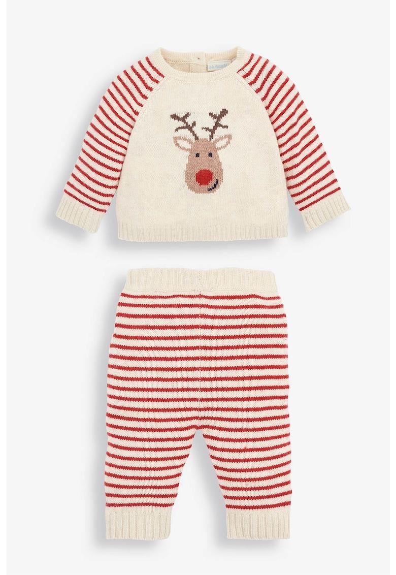 Pantaloni si bluza din tricot fin - 2 piese de la JoJo Maman Bebe
