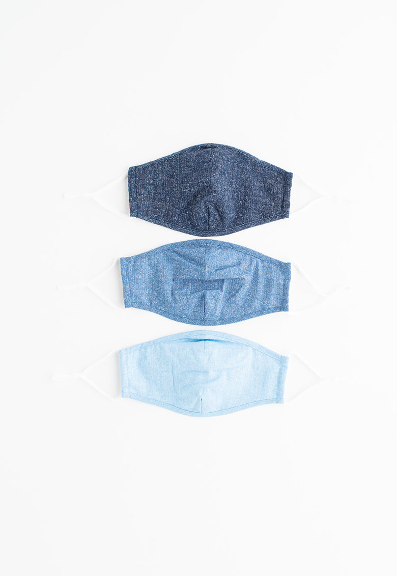 Set de masti de fata - 3 piese