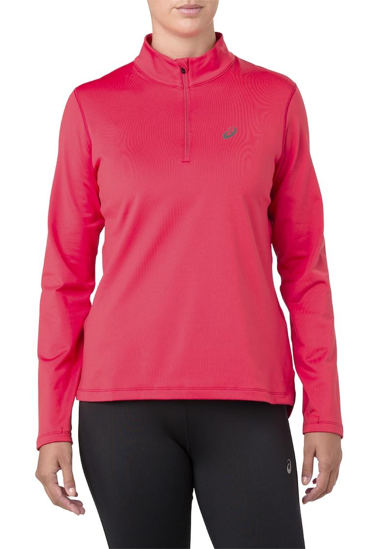 Bluza cu fenta cu fermoar pentru alergare