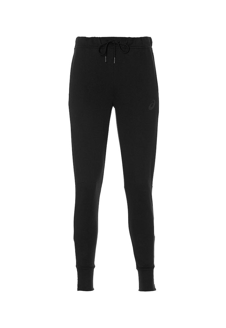 Pantaloni sport cu logo discret - pentru antrenament
