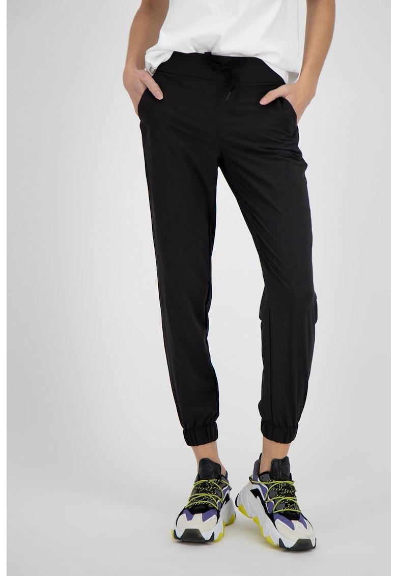 Pantaloni jogger cu buzunare oblice imagine