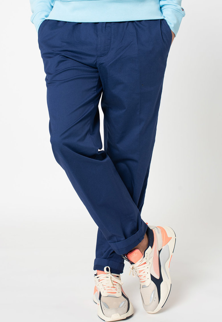 Pantaloni conici cu snur in talie Active