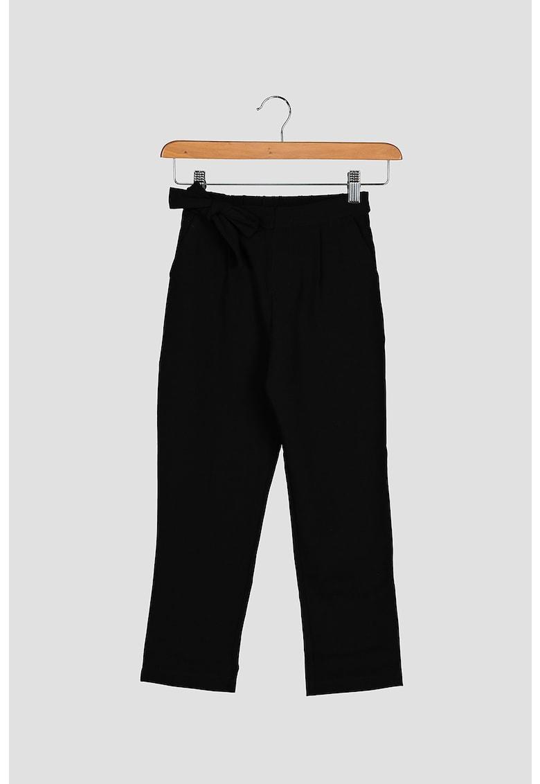 Pantaloni cu funda imagine fashiondays.ro