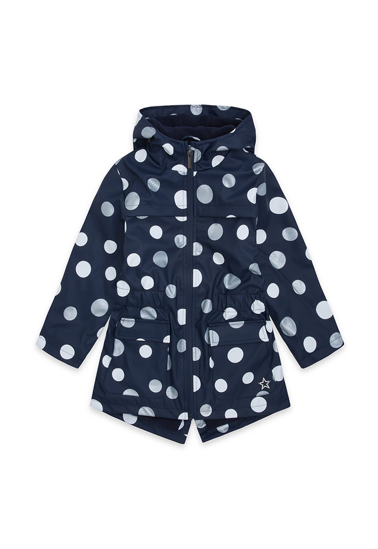 Jacheta de ploaie cu model cu buline poza fashiondays