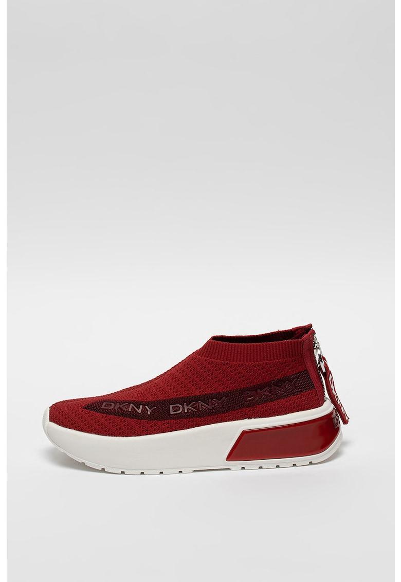Pantofi sport din material textil cu aplicatii logo Draya imagine promotie