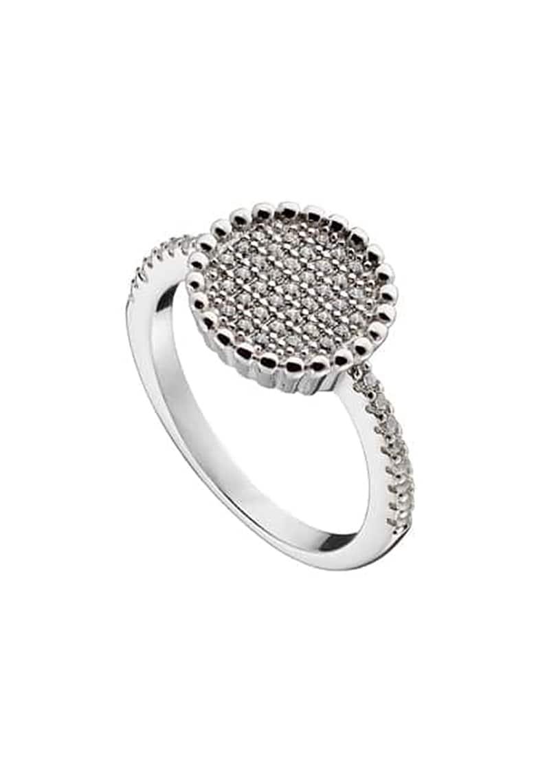 Inel de argint cu cristale