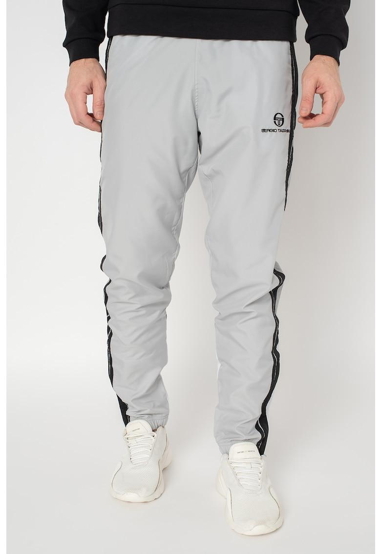 Pantaloni de trening cu insertii contrastante Chabon imagine