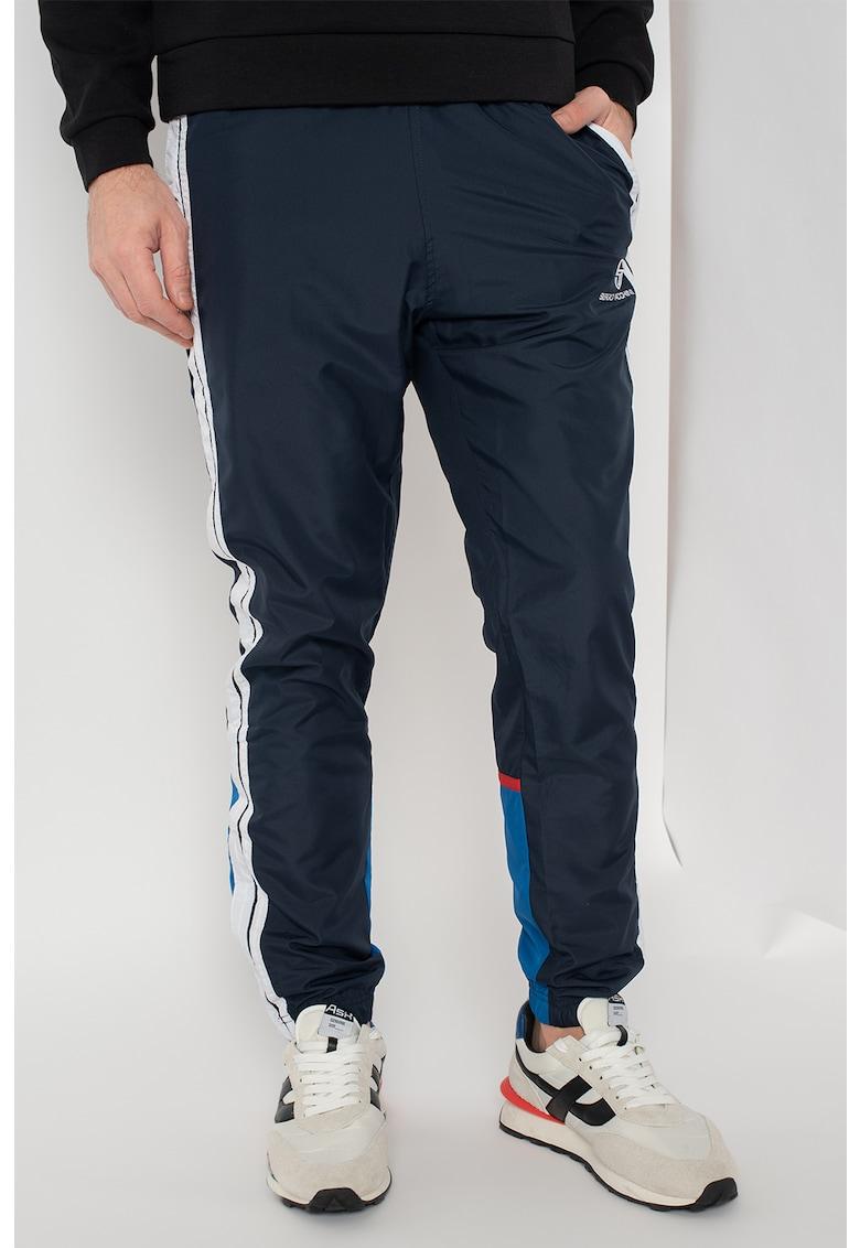 Pantaloni de trening cu insertii contrastante Chabon