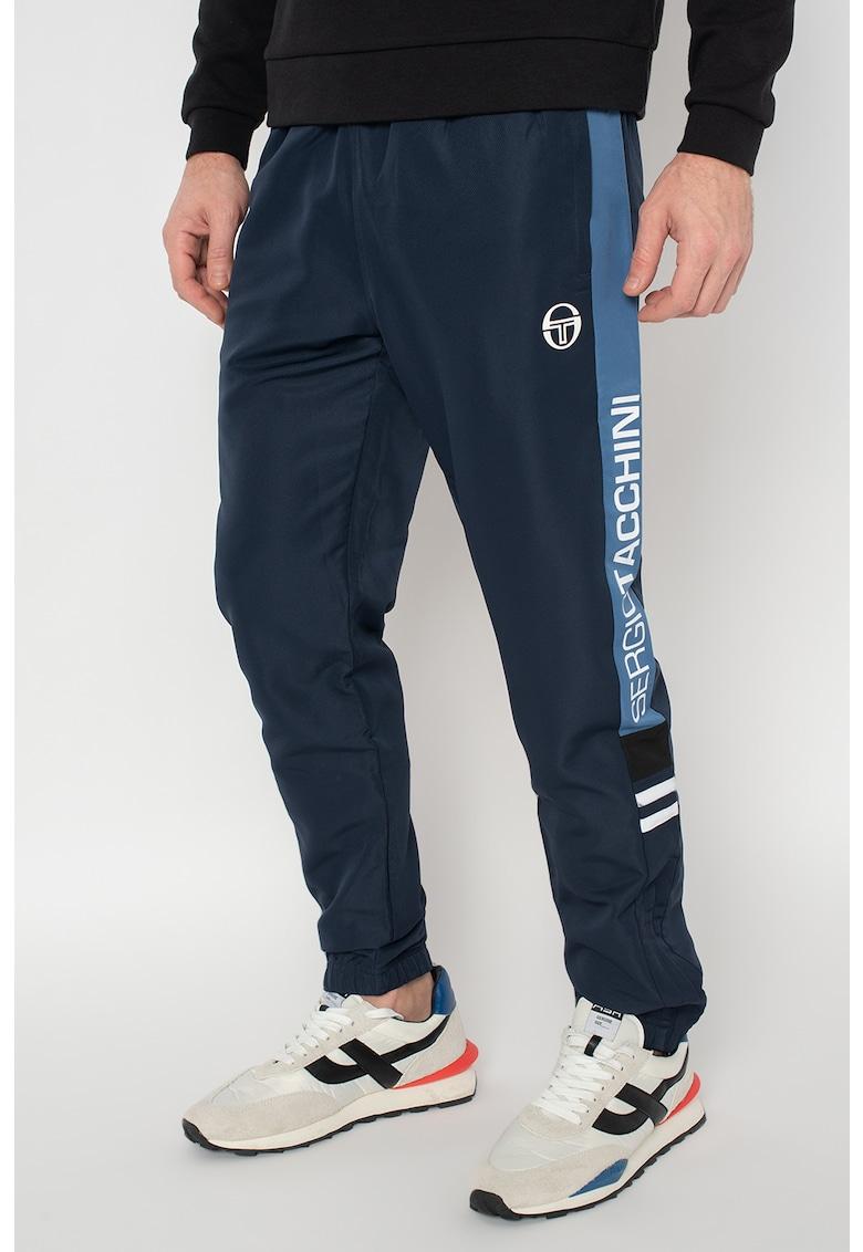 Pantaloni sport cu insertii logo Deane