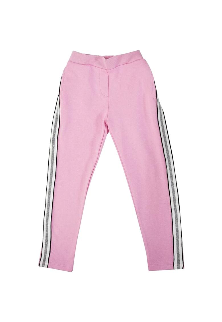 Pantaloni cu detalii stralucitoare pe laterale Tinomo
