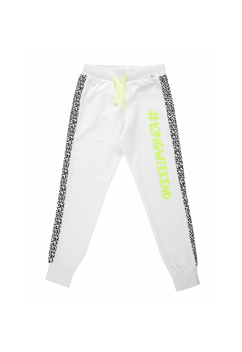 Pantaloni sport cu animal print Towiwe imagine