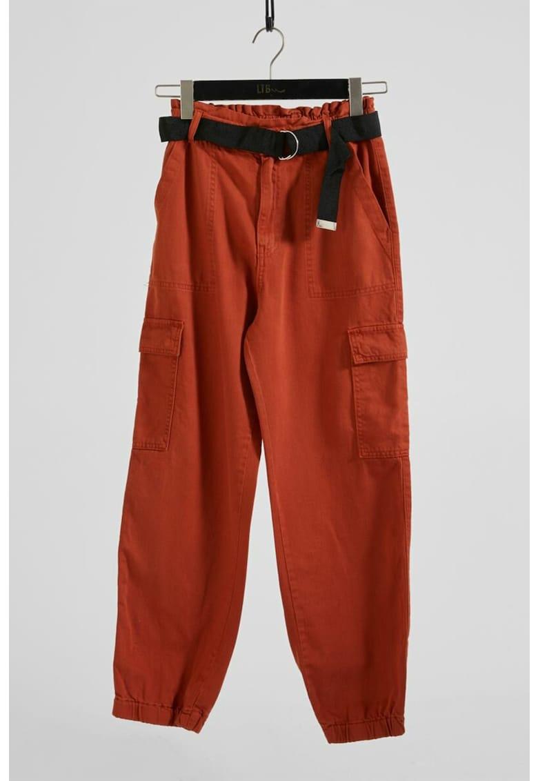 Pantaloni crop cargo Vincia