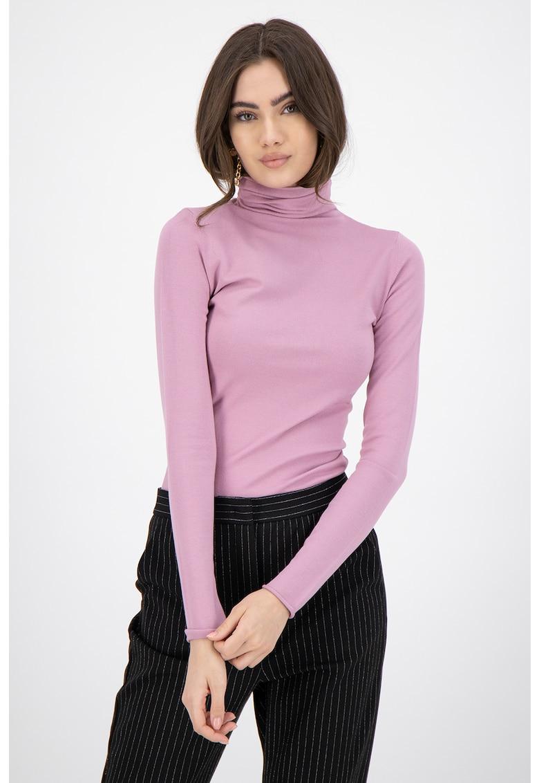 MaxCo Bluza tricotata fin cu guler inalt Diedro
