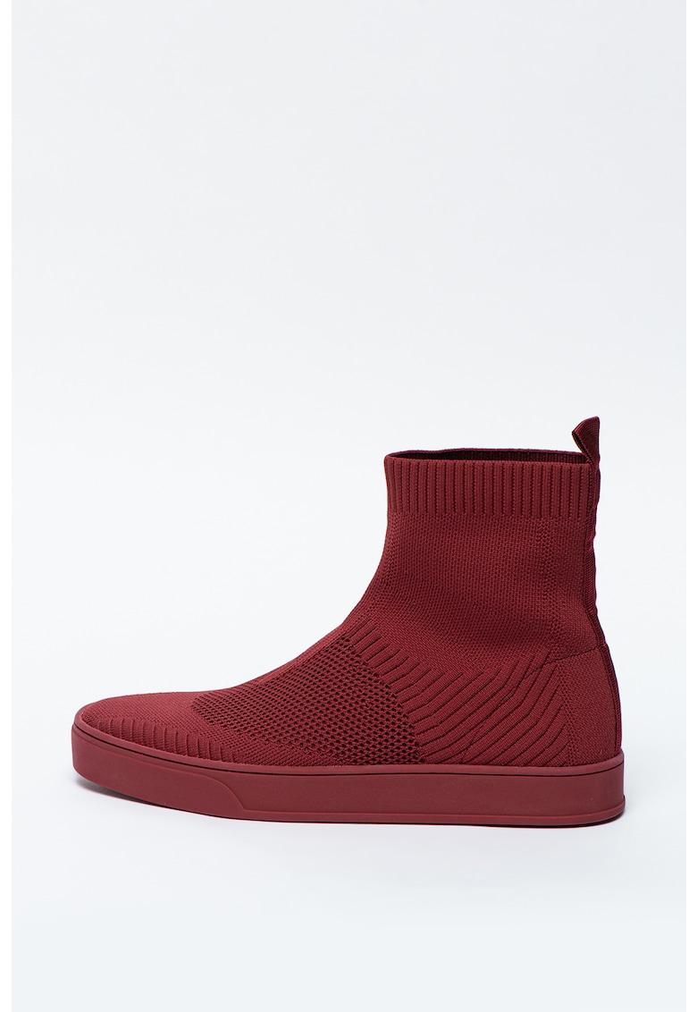 Pantofi sport slip-on din material textil Oyaevo imagine promotie